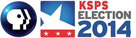 KSPS Election 2014 logo