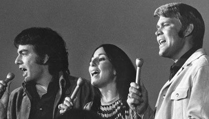 Glen Campbell, Cher and Neil Diamond
