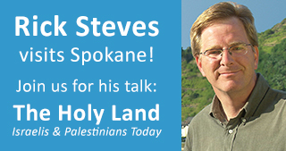 Rick Steves Holy Land Talk