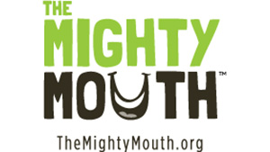The Mighty Mouth logo