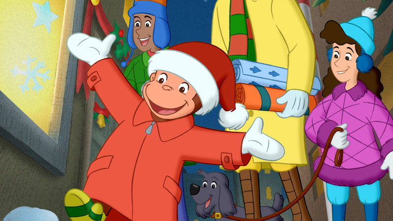 Curious George - A Very Monkey Christmas! Wednesday, November 26 @ 7am & 2pm