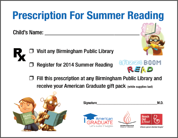 Alabama Public Television (APT) IQ Learning Network Prescription for Summer Reading