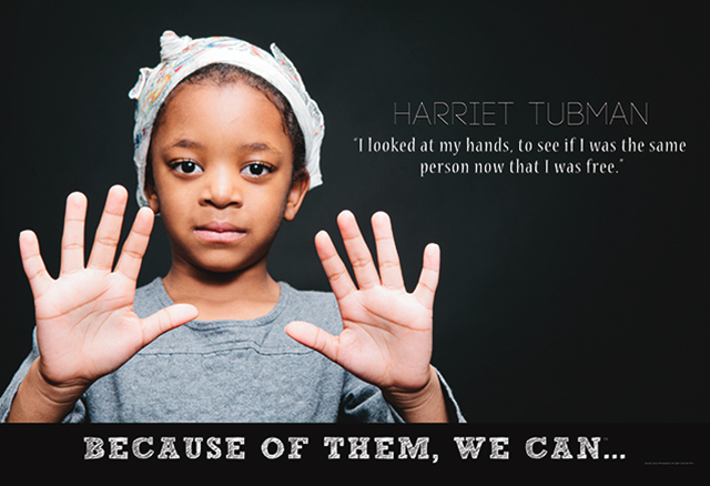 Meet a mini-inspired Harriet Tubman