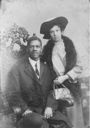 Louisa and Louis Gregory