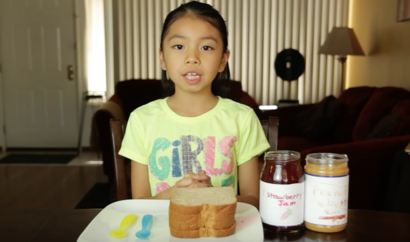 Full-Time Kid: Peanut Butter & Jelly Sandwich