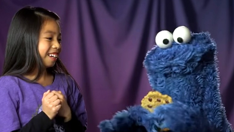 Pat-a-Cookie with Cookie Monster