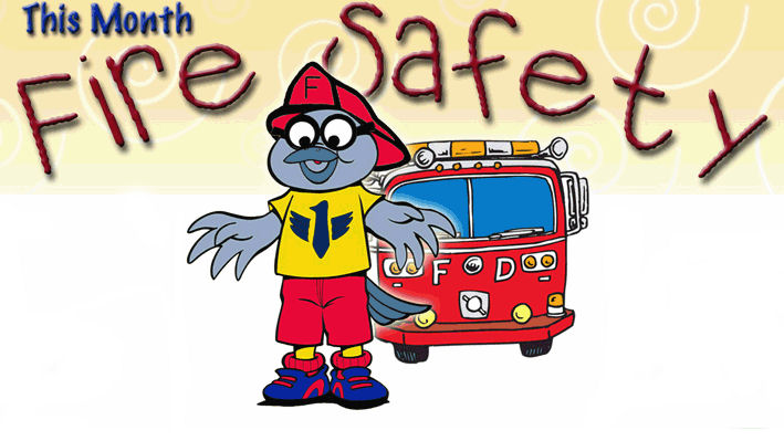 This month, Buddy the SDPB Kid, is reminding kids that fire safety is important!