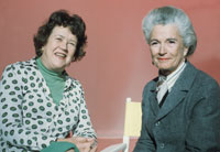 Irma Lazarus and Julia Childs