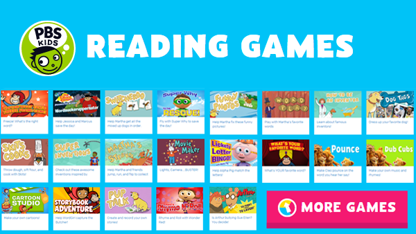 PBS Kids Reading Games