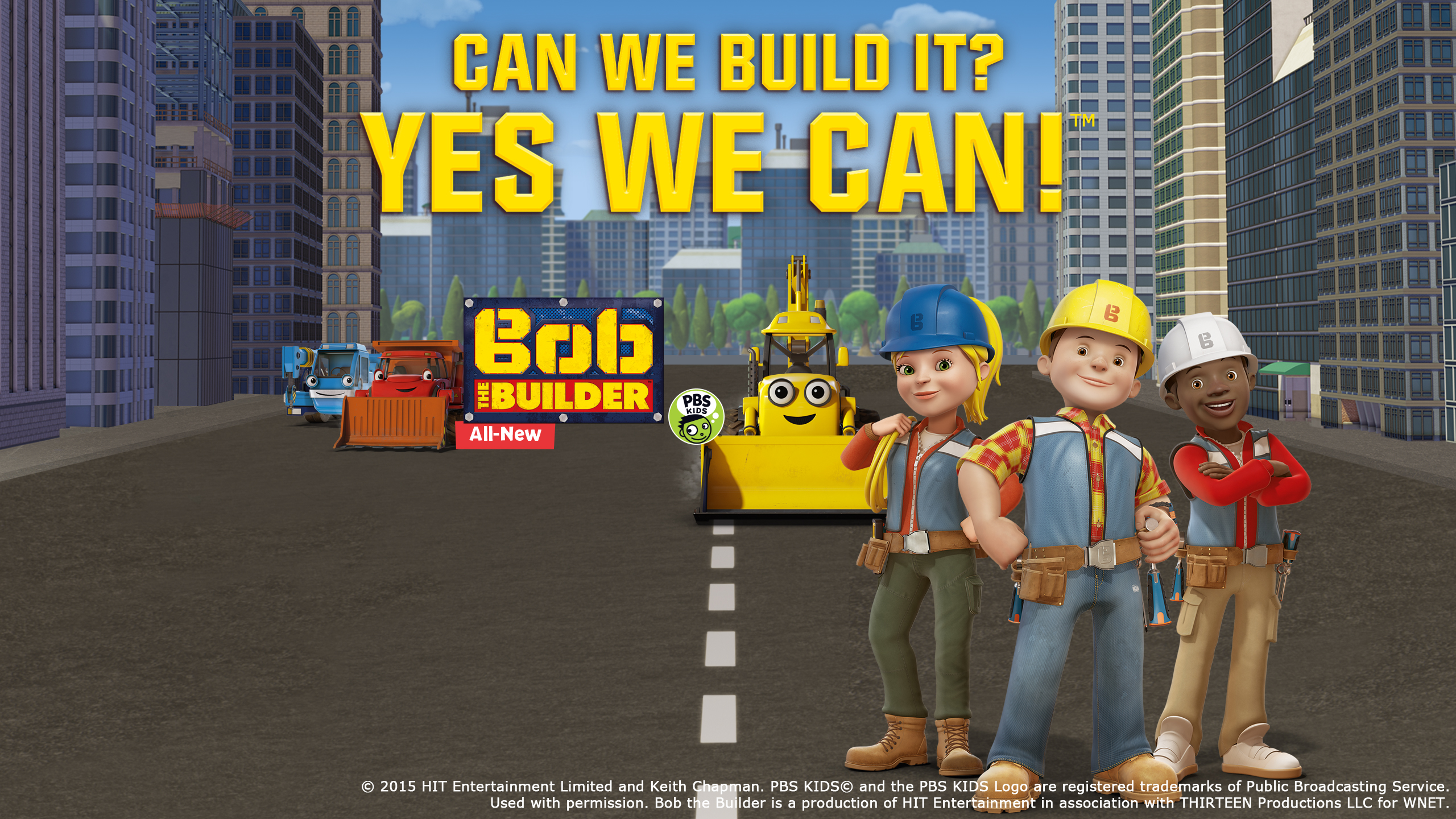 Bob the Builder Returns to CET