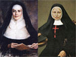 An image of the founders of the Sisters of Mercy and Franciscan Sisters of the Poor