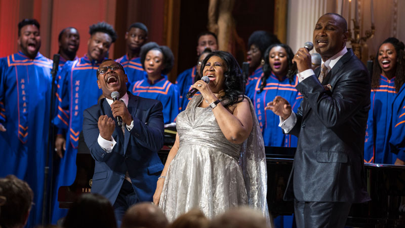In Performance at the White House: The Gospel Tradition