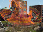 The Rose Kennedy Greenway's fresh vision for public art includes a soaring sculpture by Janet Echelman that, for the moment, is redefining the Boston skyline