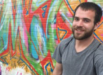Fine artist and graffiti instructor Max Unterhaslberger