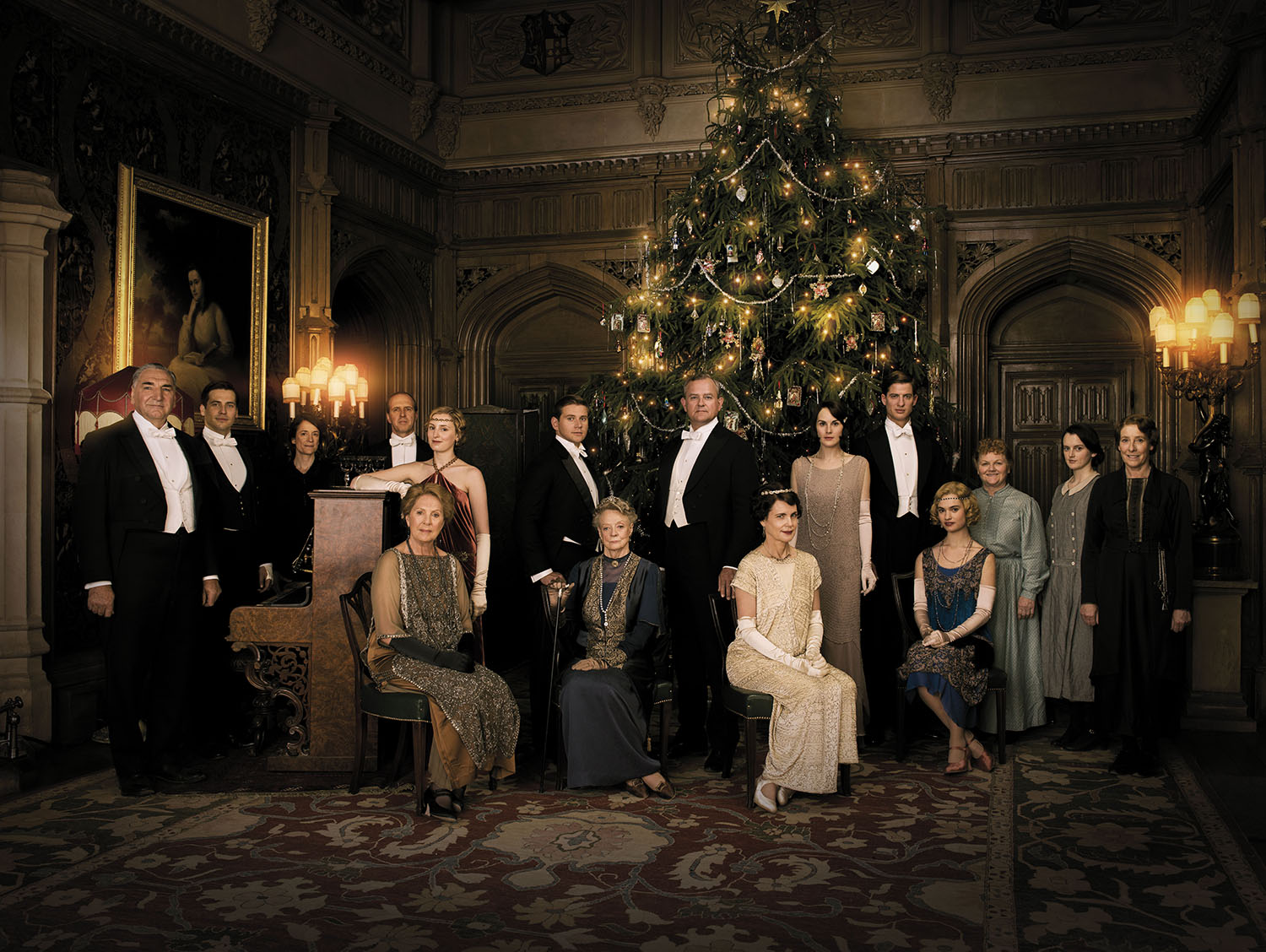 Downton During Happier Days