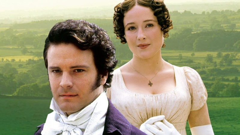 Darcy and Elizabeth, Pride and Prejudice