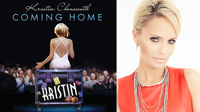 Kristin Chenoweth - Coming Home: Friday, November 28 at 8pm