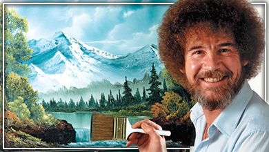 Bob Ross's Birthday Party