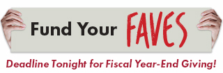 Deadline Tonight for Fiscal Year-End Giving!