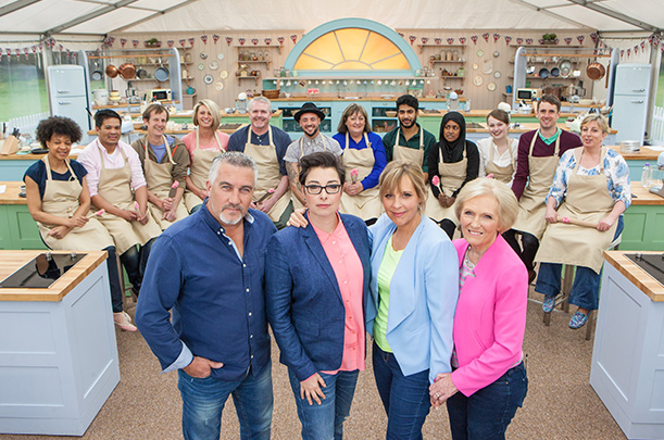 TONIGHT at 9pm - The Great British Baking Show