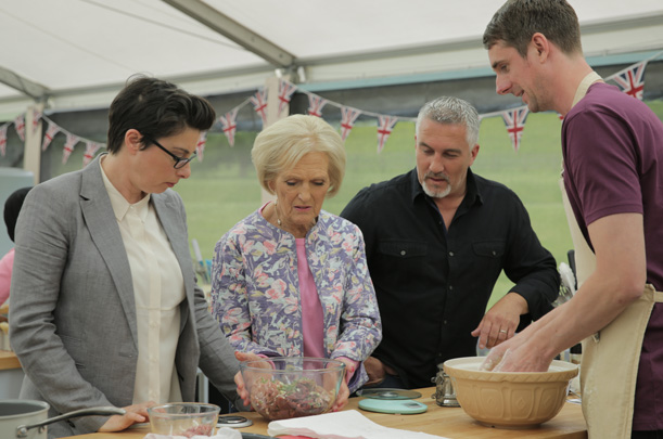 The Great British Baking Show - TONIGHT at 9pm