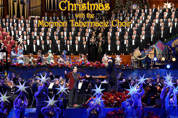 Friday at 9pm - CHRISTMAS WITH THE MORMON TABERNACLE CHOIR