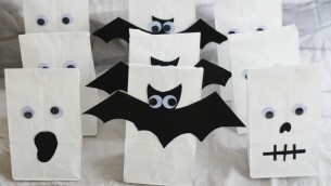 DIY Halloween Treat Bags: Video