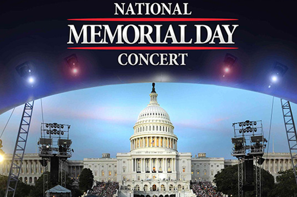 TONIGHT at 8pm - NATIONAL MEMORIAL DAY CONCERT