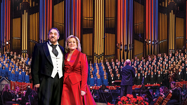 TODAY at 4:00 p.m. - Christmas with the Mormon Tabernacle Choir