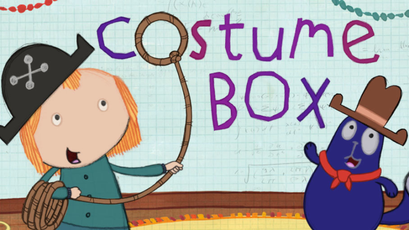 Peg + Cat costume box