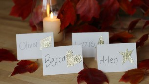 Kid-Made Place Cards