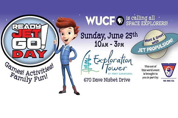 Sunday - Join WUCF For Ready Jet Go! Day