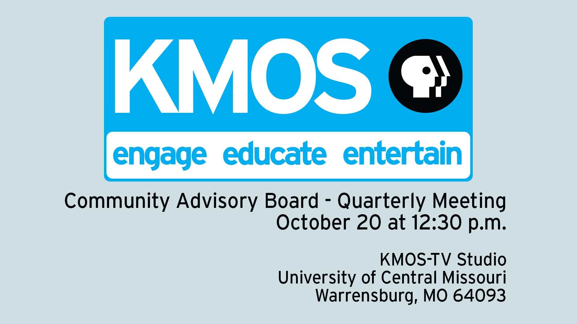 KMOS Community Advisory Board Meeting