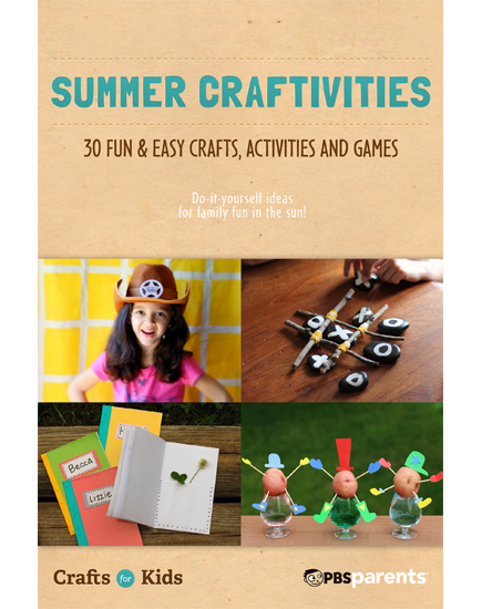 Summer Craftivities: 30 Fun & Easy Crafts, Activities & Games (Crafts for Kids)