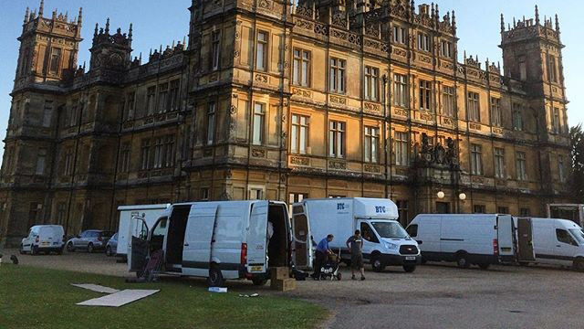 Last Days of Downton - Behind the Scenes Photos