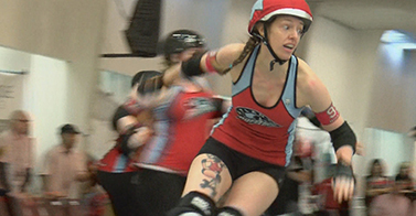 Rollergirls in the Temple