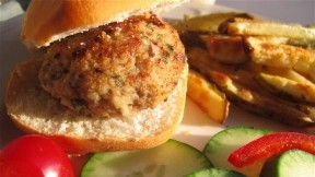 Mini Chicken Burgers