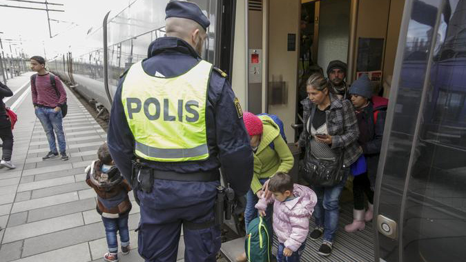 Feeling Burden, Sweden Imposes Border Controls