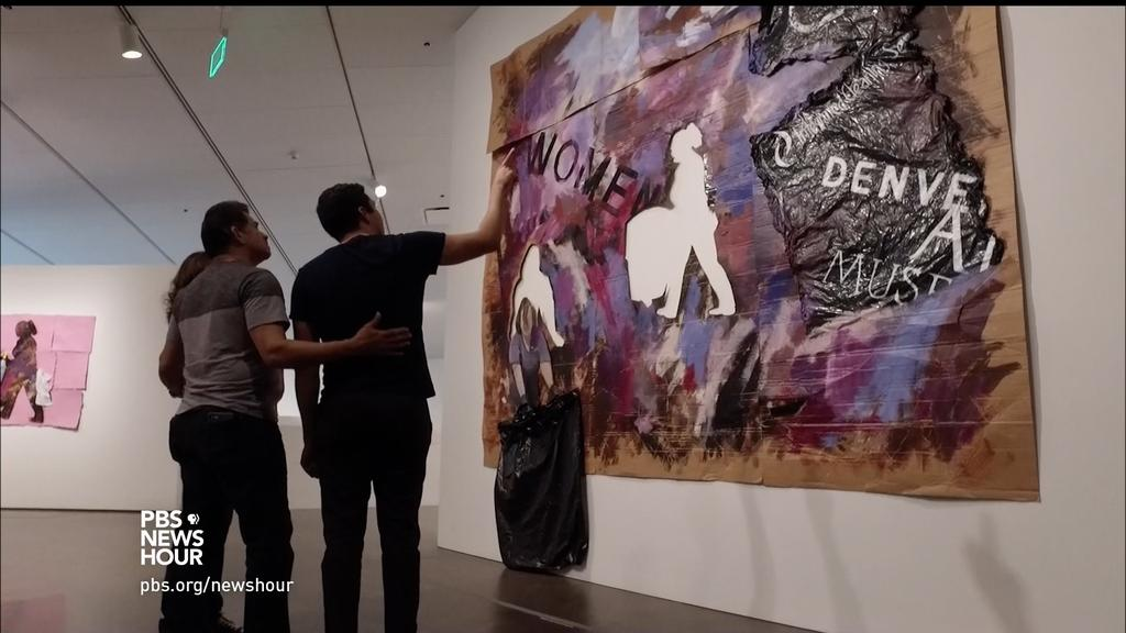 PBS Newshour Artists Illuminate Lation Life in the American West