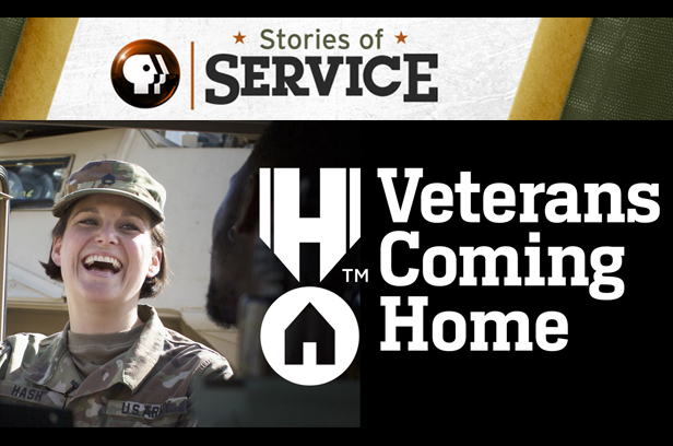 Stories of Service. Veterans Coming Home.