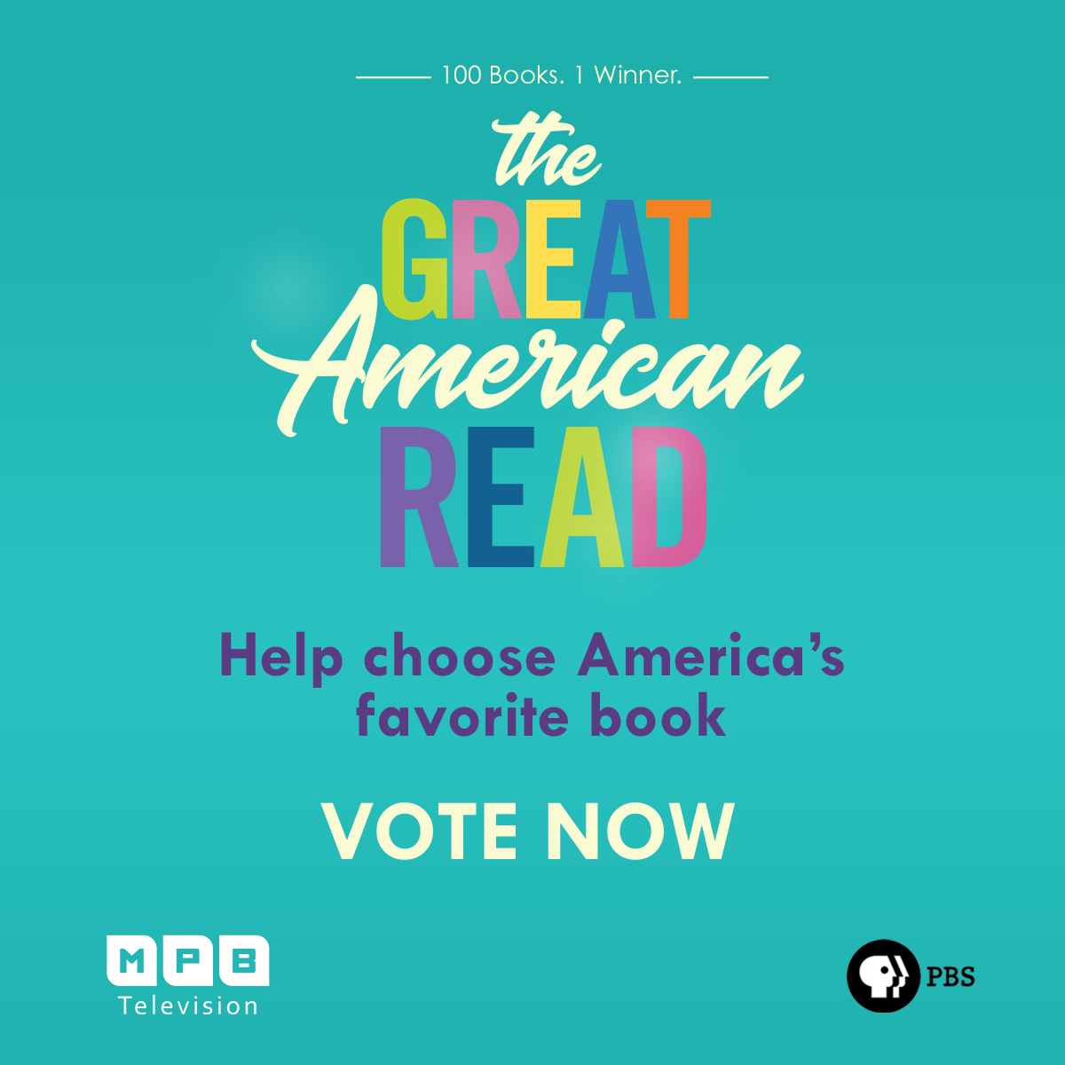 Vote for your favorite booke during the Great American REad