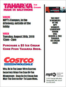 Grab an Ice Cream from Taharka Ice Cream and meet a Costco Rep