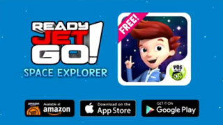Ready Jet Go! Space Explorer App