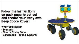 Make Your Own Space Rover