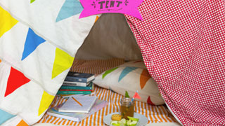 Make Your Own Writing Tent