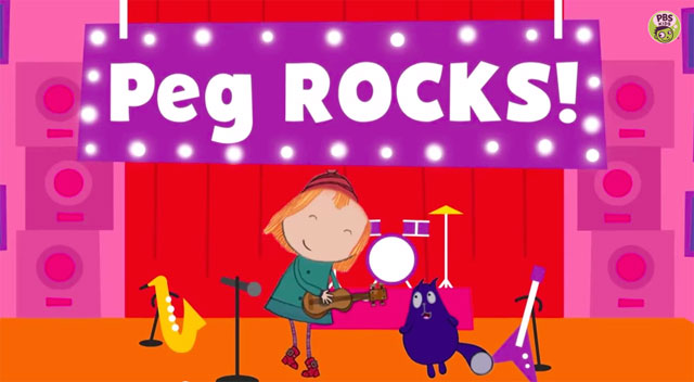 New Episodes of Peg + Cat