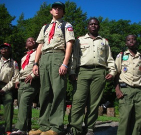 Boy Scouts of Harlem 759