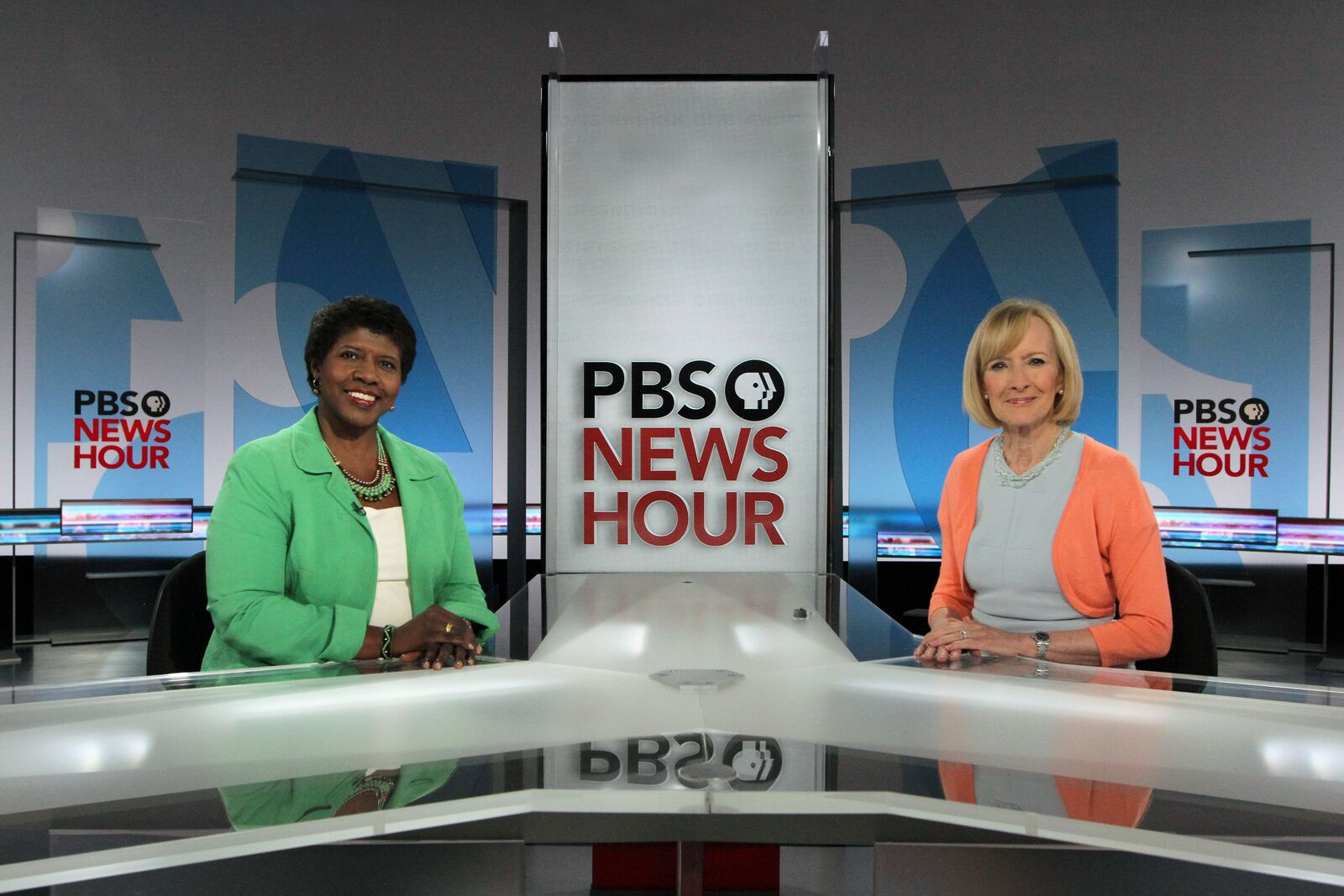 PBS Newshour New Set