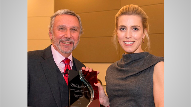 2015 Murrow Award for Distinguished Achievement in Journalism