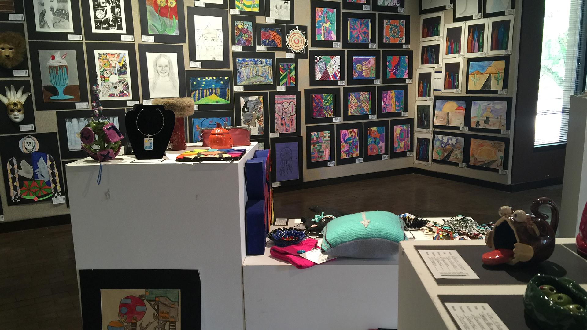 Amarillo Museum of Art throws open its walls for student art show